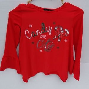 Brand new girls holiday top